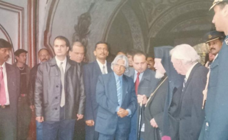 In Sudan and Bulgaria with President Kalam
