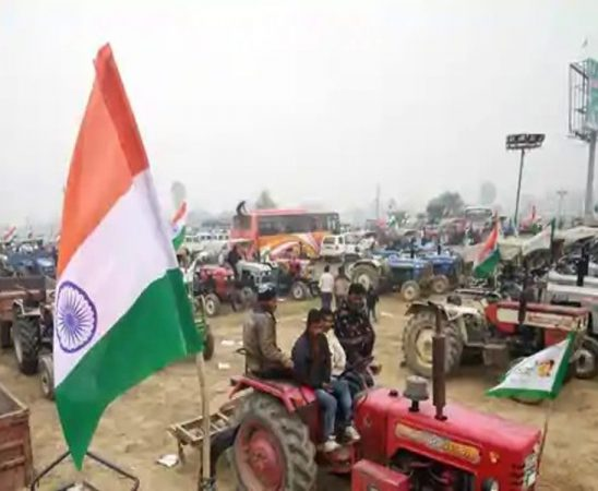 Tractor Rally on Republic Day