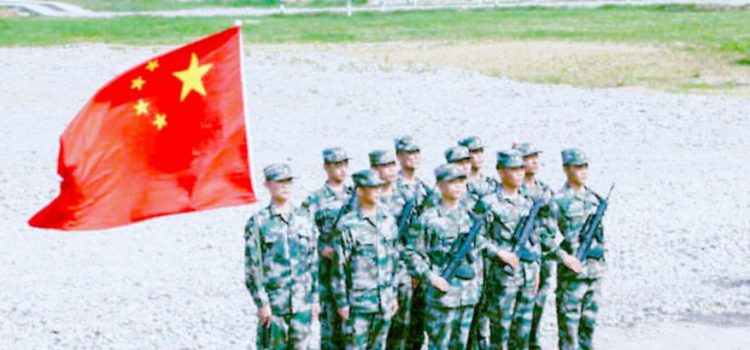 chinese soldiers